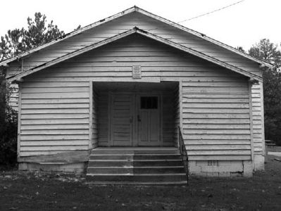 Pine Grove Rosenwald School image. Click for full size.