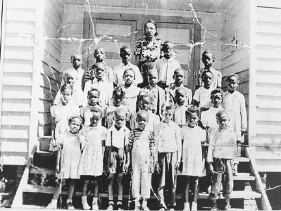 23x Pine Grove Rosenwald School, Graduating Class-1949/1950 image. Click for full size.