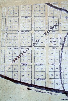 Franklin Plat Map on Marker image. Click for full size.