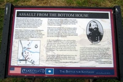 Assault from the Bottom House Marker image. Click for full size.