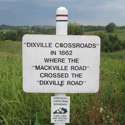Dixville Crossroads marker image. Click for full size.