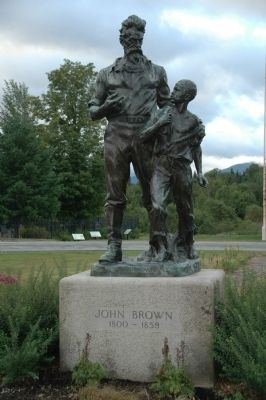 John Brown Monument image. Click for full size.