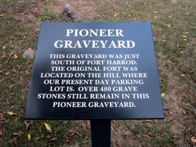 Pioneer Graveyard Marker image. Click for full size.
