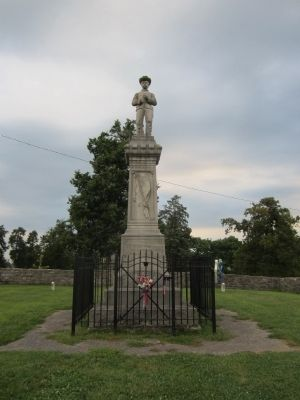 Perryville Confederate Memorial image. Click for full size.