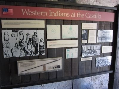 Western Indians Interpretive Display image. Click for full size.