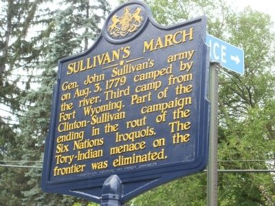 Sullivan's March Marker image. Click for full size.
