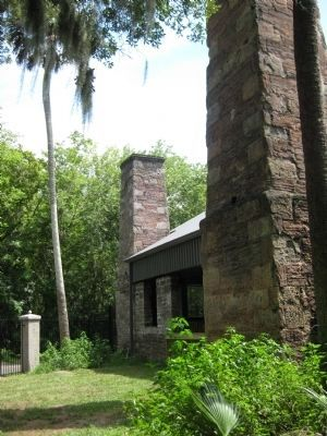 Coquina Chimneys at Dunlawton image. Click for full size.