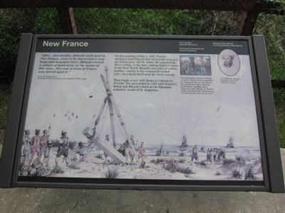 New France Marker image. Click for full size.