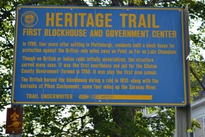 Heritage Trail Marker image. Click for full size.