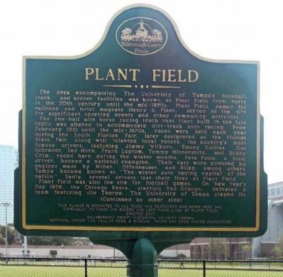 Plant Field Marker Photo, Click for full size
