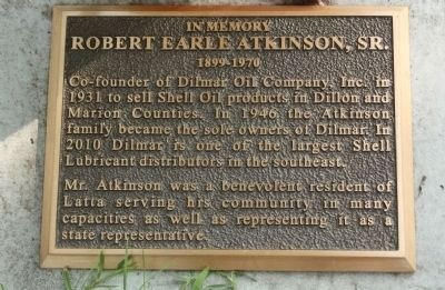 Robert Atkinson Marker image. Click for full size.