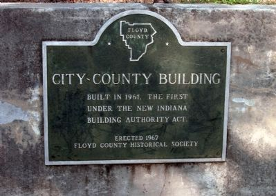 Plaque - - City-County Building image. Click for full size.