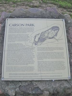 Carson Park Marker image. Click for full size.
