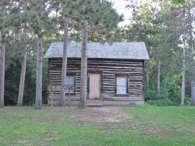 Lars Anderson Cabin 1857 image. Click for full size.