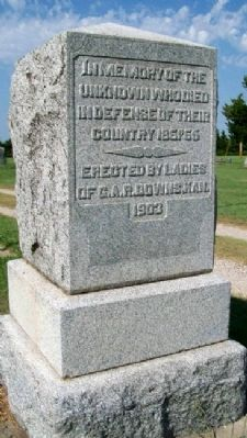 Civil War Unknown Dead Memorial image. Click for full size.