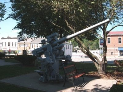 North/West Lawn - - Anti-Aircraft Gun image. Click for full size.