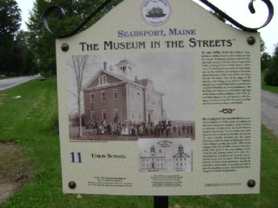Union School Marker image. Click for full size.