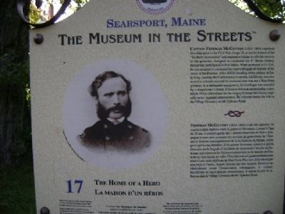The Home of a Hero Marker Photo, Click for full size