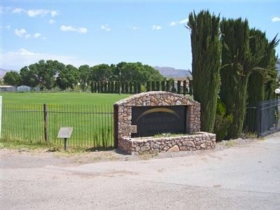 The Old Spanish Trail Marker Photo, Click for full size