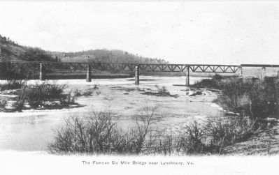 The Famous Six Mile Bridge Near Lynchburg, Va. Photo, Click for full size