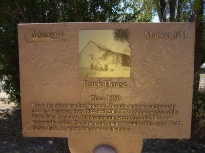 Rock House Marker image. Click for full size.