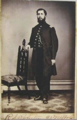 Lt. Robert Robertson, 93rd NY Infantry image. Click for full size.