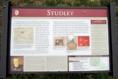 Studley Marker image. Click for full size.