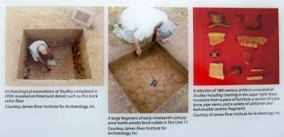 Studley Archaeological Excavations image. Click for full size.