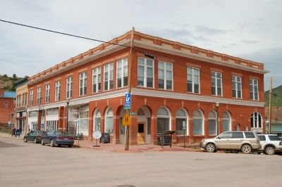 The restored Cripple Creek & Victor Mining Company Building image. Click for full size.