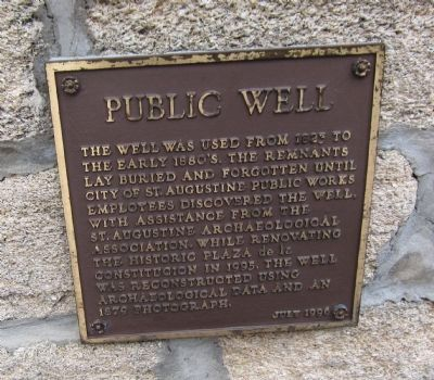 Public Well Marker image. Click for full size.