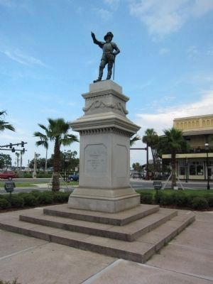 Juan Ponce De Leon Memorial image. Click for full size.