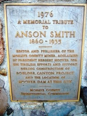 Anson Smith Marker image. Click for full size.