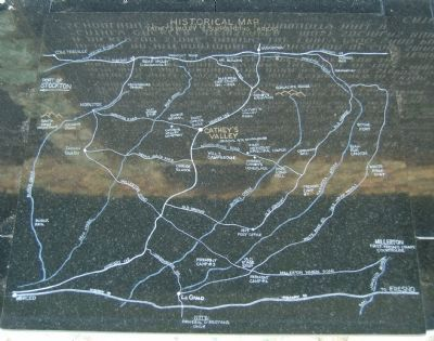 Historical Map of Cathey's Valley image. Click for full size.