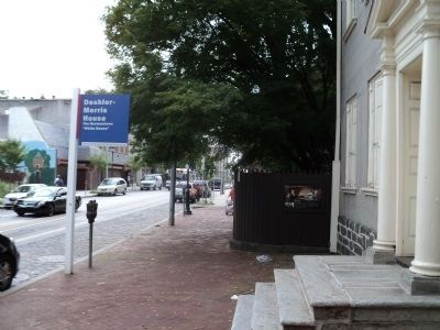 Marker on Germantown Avenue image. Click for full size.