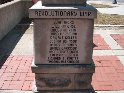 "Panel 'Three' - Revolutionary War Memorial ""Two"" Photo, Click for full size"