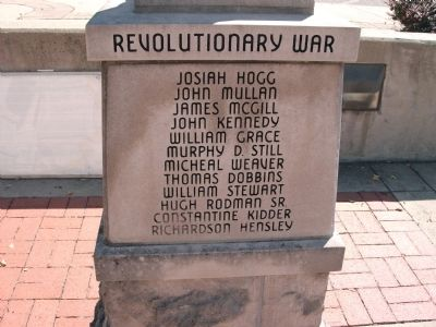 "Panel 'Four' - Revolutionary War Memorial ""Two"" Photo, Click for full size"