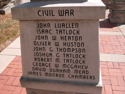 "Panel 'Two' - Civil War - Memorial ""One"" Photo, Click for full size"