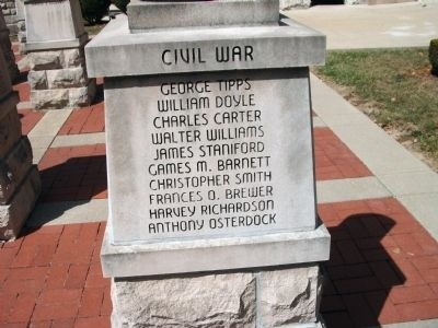 "Panel 'Four' - Civil War - Memorial ""One"" Photo, Click for full size"