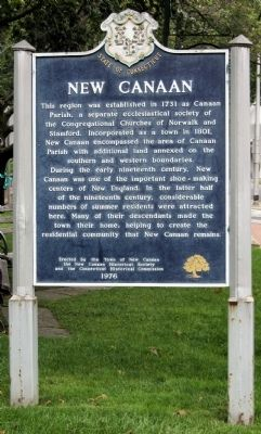 New Canaan Marker image. Click for full size.