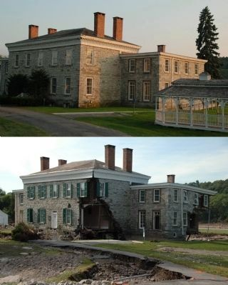 Guy Park - Before & After Hurricane Irene Flooding image. Click for full size.