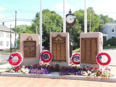 Pawling Veterans Memorial image. Click for full size.