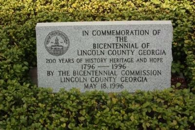 Bicentennial Lincoln County image. Click for full size.