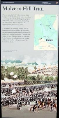 Malvern Hill Trail (right panel) image. Click for full size.
