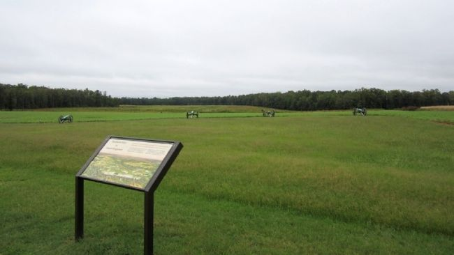 Union Position on Malvern Hill image. Click for full size.
