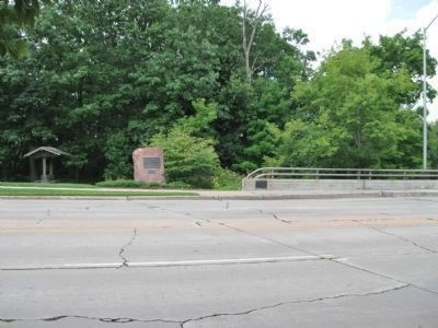 Soldiers and Sailors Memorial Bridge Marker Photo, Click for full size