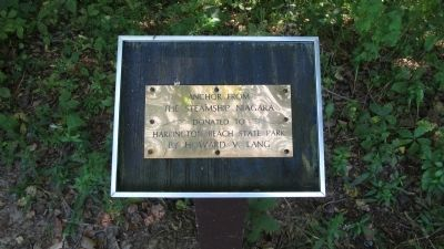 Plaque next to anchor image. Click for full size.