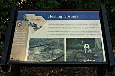 Healing Springs Marker image. Click for full size.