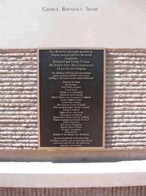 Donor Plaque image. Click for full size.
