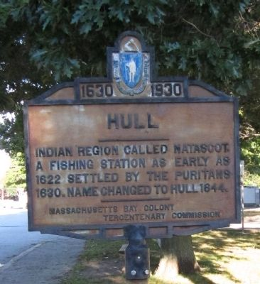 Hull (Atlantic Avenue) Marker image. Click for full size.