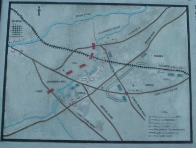 Map of the Battle of Wyse Fork image. Click for full size.